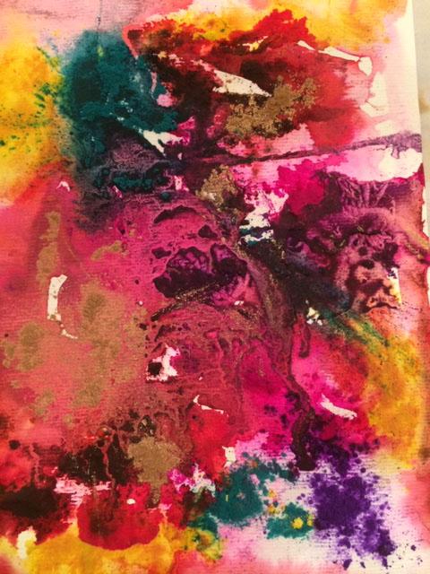 India Colours 80 x 80