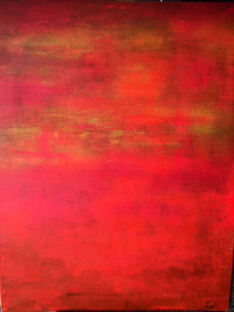 Just red 70 x 80